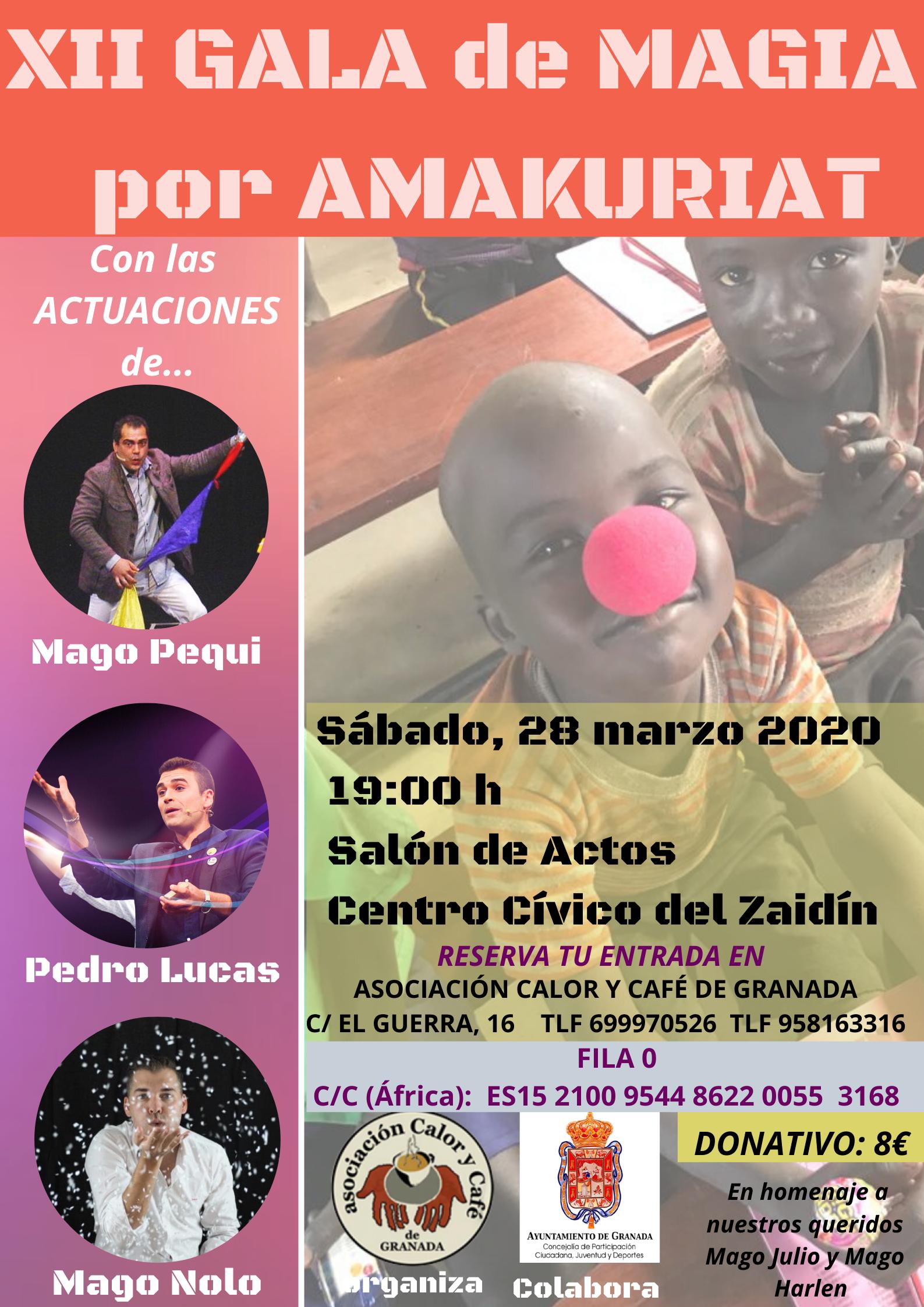 XII GALA DE MAGIA POR AMAKURIAT, 2020