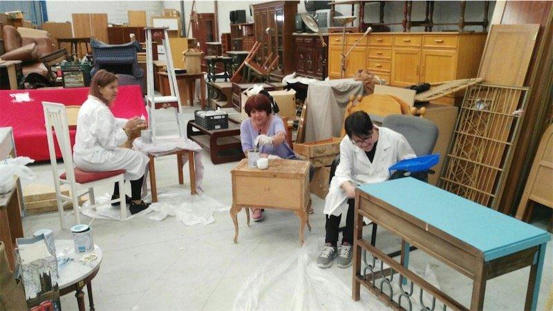 calor y cafe taller restauracion de muebles 1