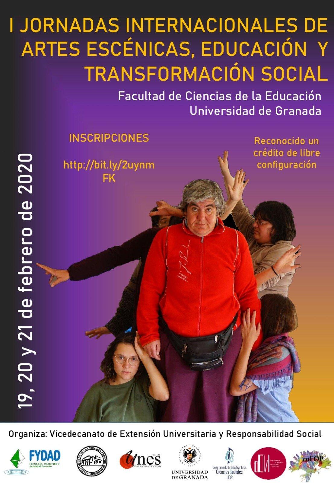 cartel jornadas de inclusión